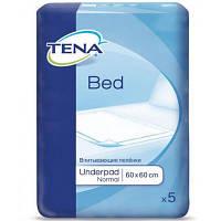 Пеленки для младенцев Tena Bed Normal 60х60 см 5 шт (7322540576405)
