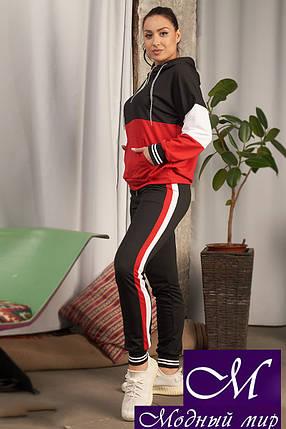 Женский спортивный костюм батал трикотаж (р. 48-50, 50-52, 52-54) арт. 33-929, фото 2
