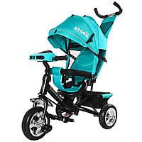 Триколісний Багатофункціональний велосипед «STORM» TILLY T-349 для дітей від 1 року , 6 кольорів