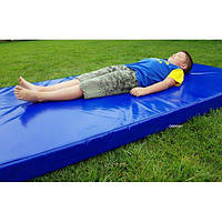 Мат гимнастический спортивный в чехле из ПВХ OSPORT 2м х 1м толщина 10см (FI-0043)