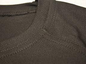 Термофутболка мужская потоотводящая из ткани кулмакс чёрная, фото 2