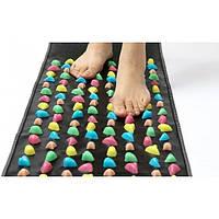 Массажный ортопедический коврик дорожка для ног детей с камнями 120см OBABY (MS 1953)