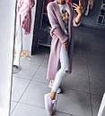 Белые женские джинсы скинни с высокой посадкой рваные на коленках, фото 6