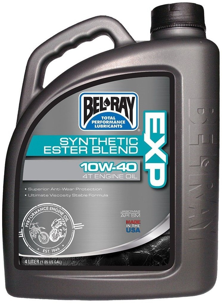 Масло моторное Bel-Ray EXP SYNTHETIC ESTER BLEND 4T 10W40 (4л)