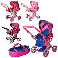 Детская прогулочная коляска для куклы для девочек зима-лето