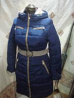 Полу-пальто женское зимнее snowimage b520
