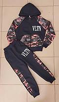 """Спортивний костюм """"VLTN"""" на дівчинку ( 3-7 років ) ( Розміри 104/110/116/122/134 )"""