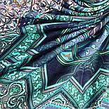10394-12, павлопосадский платок из вискозы с подрубкой 80х80, фото 7