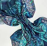 10394-12, павлопосадский платок из вискозы с подрубкой 80х80, фото 2