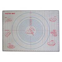 Коврик силиконовый армированный с разметкой 610*455 мм (шт)
