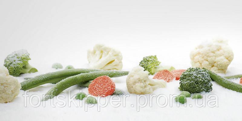 Бо тунель заморозки овочів азотом Air Products 2000 кг/год