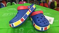 Сабо Crocs Lego синие для мальчика