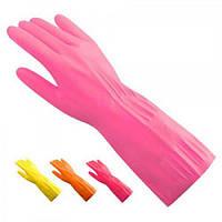 Перчатки резиновые хозяйственные 12пар Stenson (HG-20)