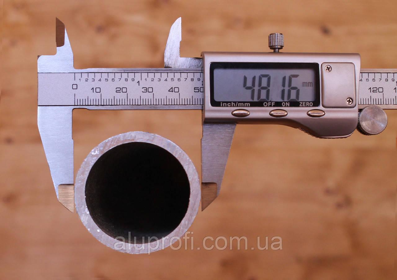 Труба  алюминиевая ф48 мм  (48х3,5мм) АД31, АД0