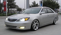 Защита окон дефлекторы, ветровики для Toyota Camry V 30 4d 2001-2006 \ Тойота Камри 30 (29360 / 057)