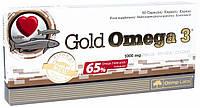 Рыбий жир Омега в капсулах (пищевая добавка) Gold Omega 3 60 капсул Olimp Nutrition (00325-01)