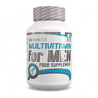 Комплекс витаминов и микроэлементов для спортсменов мужчин Multivitamin For Men 60 таб Biotech USA (01111-01)