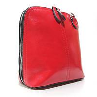 Червона жіноча сумка Balii 1127-15 через плече на блискавці маленька вертикальна крос боді, фото 1