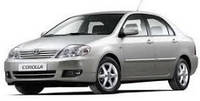 Защита окон дефлекторы, ветровики для Toyota Corolla 2001-2007 \ Тойота Королла (29360 / 057)