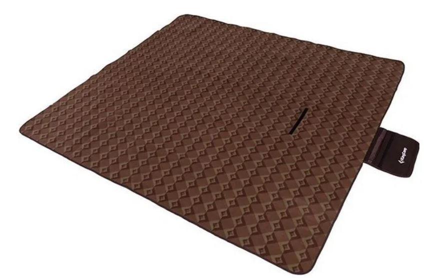 Килимок для пікніка KingCamp Picnik Blankett KG4701, коричневий