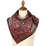 10394-6, павлопосадский платок из вискозы с подрубкой 80х80, фото 3