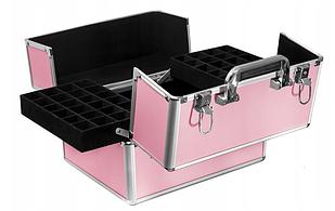 Кейс для маникюра розовый