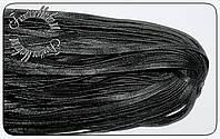 Шнурок плоский 4мм пропитка 70см блестящий