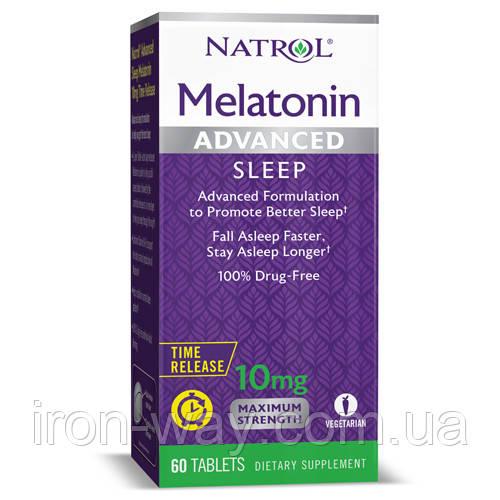 Natrol Advanced Sleep Melatonin 10 mg 60 tabs