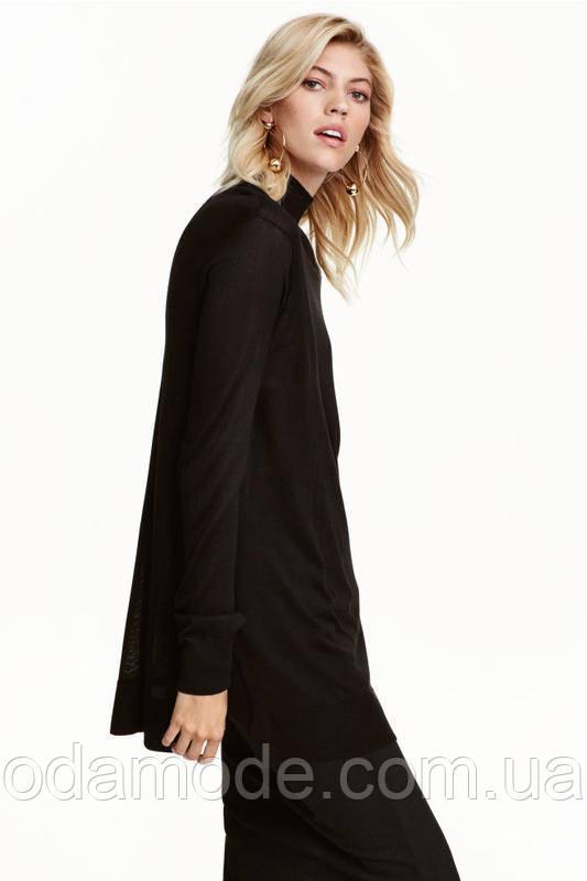 Туника женская чёрная H&M