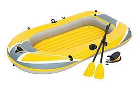 Лодка надувная Bestway 61083 228x121см, с веслами
