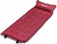 Коврик самонадувной KingCamp Base Camp Comfort KM3560, красный, фото 1