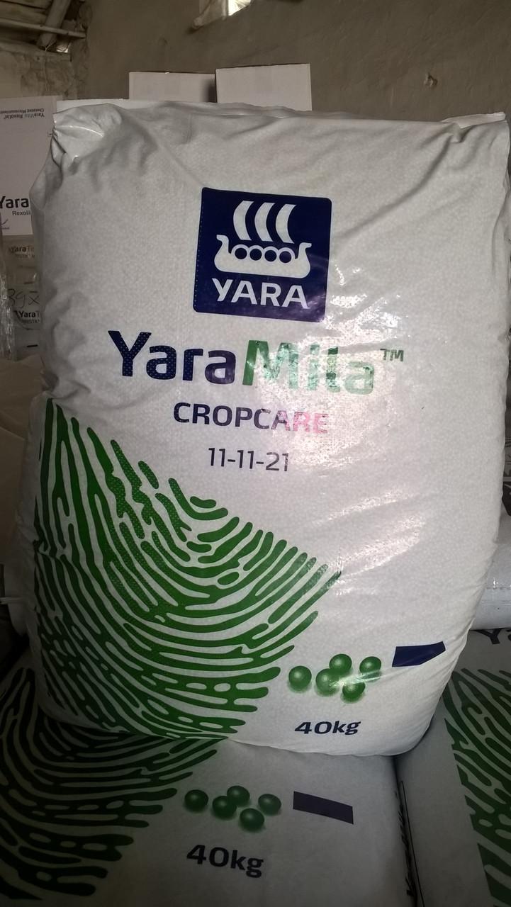 ЯраМила Кропкер 11-11-21 / Добриво YaraMila CROPCARE 11-11-21 (25 кг)