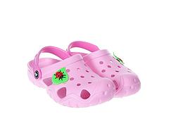 Кроксы  для девочки, розовые - Jose Amorales,размер 28-29