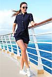 Модный Льняной женский комбинезон с шортами 42-60р, фото 5
