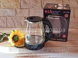 Электрочайник стеклянный Livstar LSU-1122 Черный