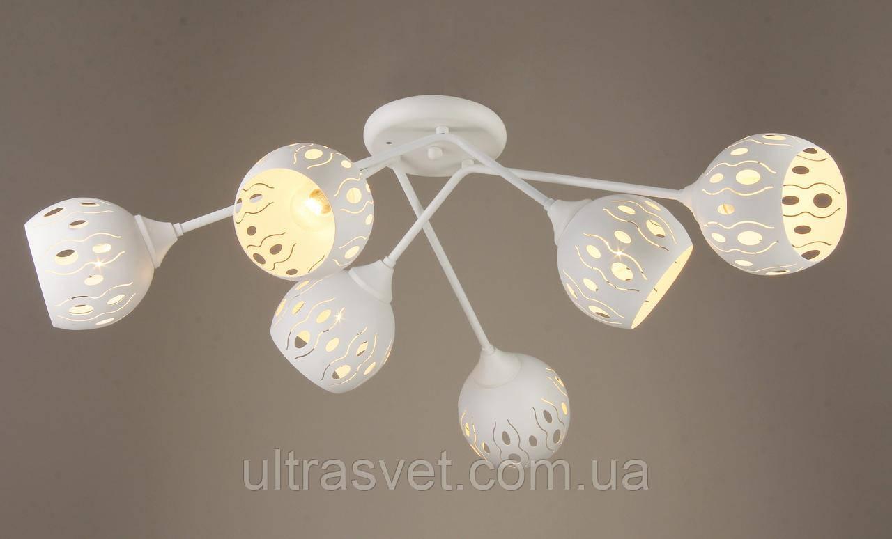 Люстра в стиле лофт на 6 ламп  03117-6