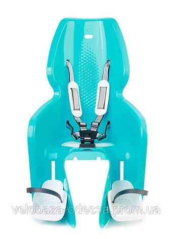 Сиденье задн. Bellelli Lotus Standard B-fix до 22кг, небесно-голубое, фото 2