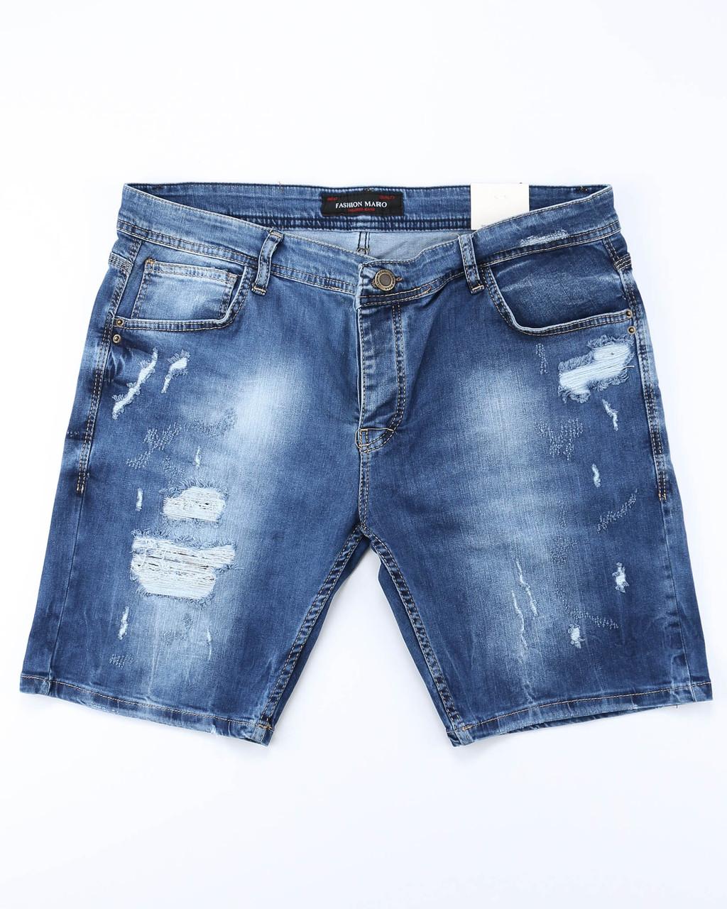 Шорты джинс MARIO рваные 30(Р) 0017