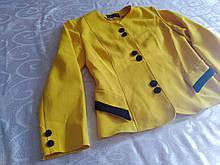 Піджак жовтий, жакет