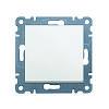 Выключатель 1-но тактовый Hager Lumina 2 Белый (WL0110)