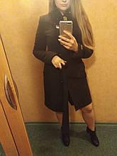 Красиве жіноче пальто коричневе