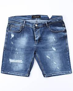 Шорты джинс MARIO рваные 30(Р) 0015