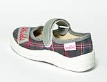 Текстильные тапочки WALDI Алина Клеточка. Размеры 24,25, фото 3