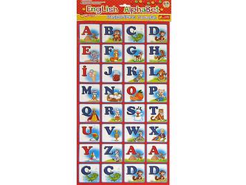 "Абетка магнітна ""Ранок"" English Alphabet №13133004Р/4204(100)"