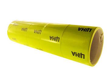"""Цінник клейкий в рул. вел./мал. 3м """"Ціна"""" 30х35мм 120шт жовтий(5)(500)"""