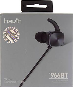 Навушники вакуумні Havit HV-H966BT безпровідні bluetooth black+мікрофон