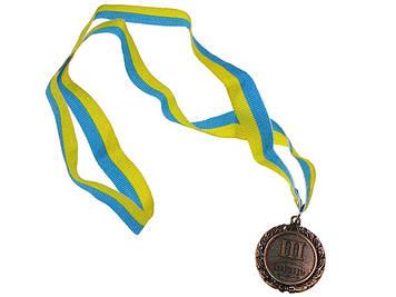 Медалі малий. III місце (800)