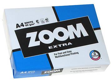 "Папір для ксер. A4 Ф ""ZOOM Extra"" 80г/м2 B (500арк)(5)(240)"