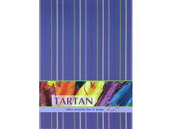 """Зошит A5 80арк. кліт. тв. обкл. """"Тартан"""" горизонт. №O20368-12/Optima/"""
