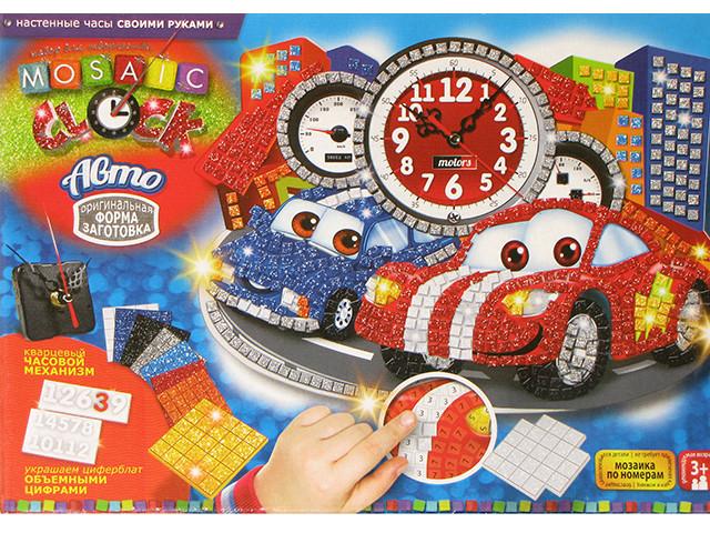 """Набір для творч. """"DankoToys"""" Годинник """"Mosaic clock"""" MC01-01-05(10)"""